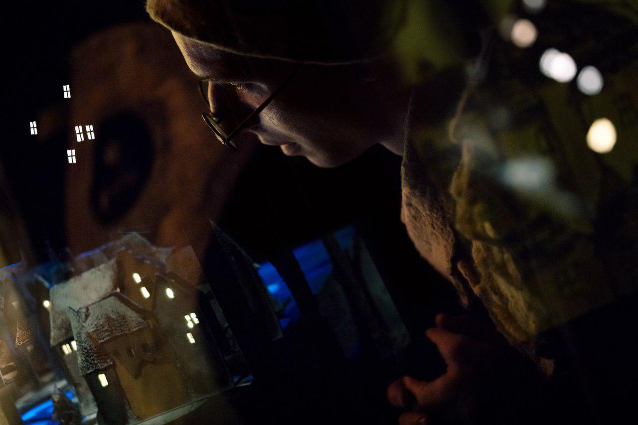 Наталья Кореновская. Василий Яров. Театр-студия «Грань». Спектакль «Театр теней Офелии». Новокуйбышевск