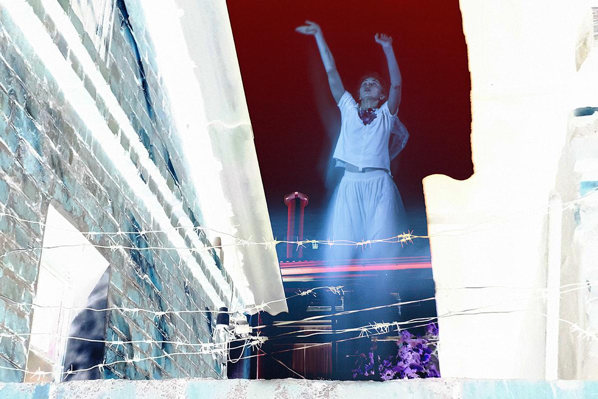 Чалая Анастасия. Серия «Танец Мельпомены. Сон Терпсихоры». Фестиваль Тенденция-2019. Один театр. Краснодар.