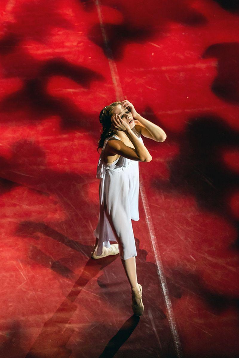 Борисов Алексей (Саратов). Саратовский театр оперы и балета, Кристина Кочетова в балете «Ромео и Джульетта».