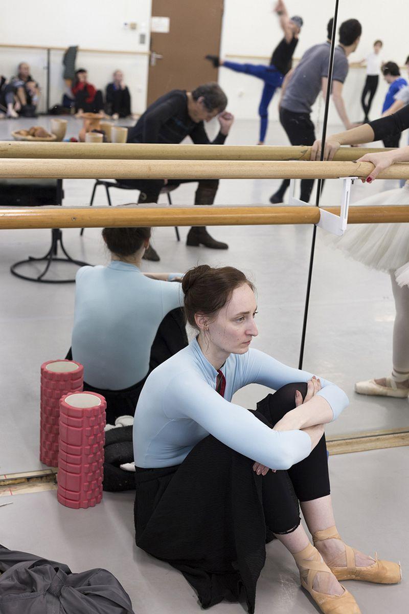 Наталья Зубова-Жолгер (Краснодар). Олеся Хартманн, балерина, Словенский Национальный Театр Оперы и Балета, г. Марибор